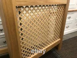 3' Radiator Cover 100% Solid Oak Hand Made Various Sizes & Colours Bespoke