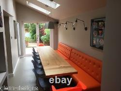 8,10,12,14,16+seater, Extending, Solid Oak, Monks Refectory Dining Table, M-t-M