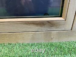 Air Dried Solid Oak Barn Window 1200mm x 900mm Green Oak Timber Frame Cottage