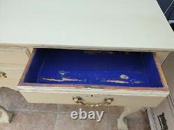 Antique style shabby chic hall / dressing table / desk / sideboard / cabinet