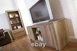 Canyon bookcase 2 drawer 3 shelf Oak Veneer 3D finish for an individual look