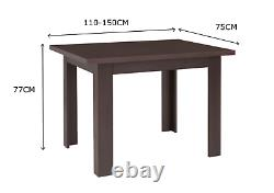 Dining Set! Small Extending Dining Table & 4 Chairs For All Rooms! Arte2