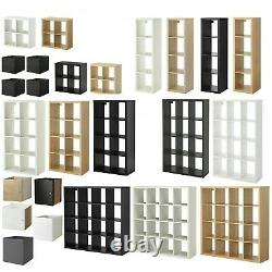 Ikea Kallax Storage Display Unit Shelving Bookcase Full Range