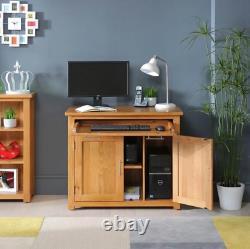 London Solid Oak Hideaway Home Office Computer Desk UK46