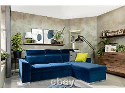 Modern Wall Shelf and LED Lights 200cm 2m Display Storage Medium Oak Effect Gent