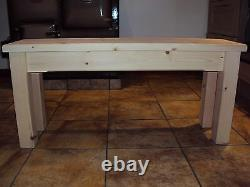 Quality Wooden Handmade kitchen-Dining-utility Bench Sturdy And Solid 5FT