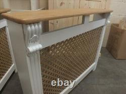 Regency 4' Painted Radiator Cover Solid Pine Solid Oak Hand Made Various Sizes