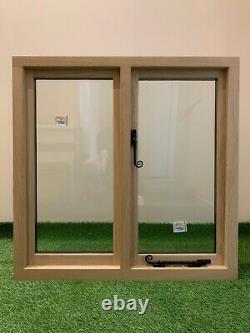 Slimline Oak Window Handcrafted Solid European Oak 900mm x 750mm Shepherds Hut