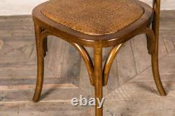 Solid Oak Traditional Cross Back Dining Chair With Metal Cross Back Wooden Chair