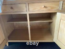 Solid oak Marks & Spencer sideboard in very good condition