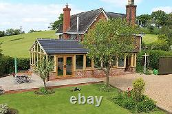 Solid oak conservatory/ orangery/ garden room / extra space/ room/ triple glass