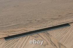 Voxa Parquet Oak 3 Door Sideboard / Modern Storage Cabinet / Industrial Chest