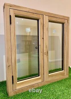 Air Dried Solid Oak Barn Fenêtre 900mm X 900mm Green Oak Timber Frame Building