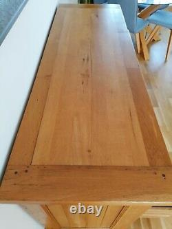 Besp-oak Solide Oak Grand Salon À Basse Température De Drawers, Salle À Manger, Chambre À Coucher