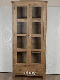 Bibliothèque D'armoire D'affichage Dans Le Pays De Chunky Dorset De Pin De Chêne Massif