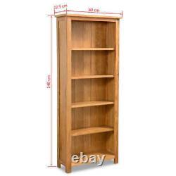 Bibliothèque En Chêne Vidaxl Accueil Bibliothèque Étagère Cabinet Display Unit Rustic Multi Sizes