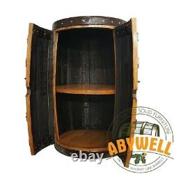 Boisson De Chêne Massif Rack De Vin Fabriqué À La Main Et Recyclé De Scotch Whisky Barrel