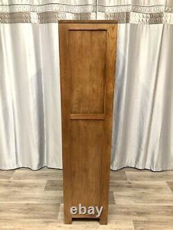 Chêne Meubles Terrain Solide Chêne Tall Bibliothèque Unité Avec 5 Étagères Rustique 100% Chêne