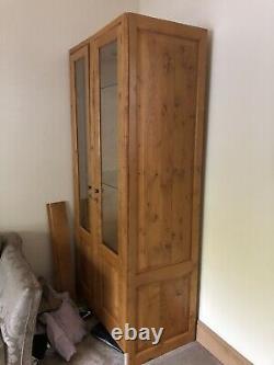 Clive Christian Display Cabinet Solide Oak 7ft H 4ft Wide