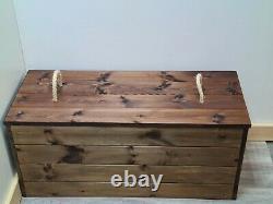 Coffre De Stockage Coffre De Ferme Boîte De Couverture Ottomane De Coffre
