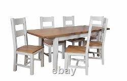 Dorset Oak Extending Dining Table Solid 8 Chairs Pine In Painted Français Grey Dorset Oak Extending Dining Table Solid 8 Chairs Pine In Painted Français Grey Dorset Oak Extending Dining Table Solid 8 Chairs Pine In Painted Français Grey Dors
