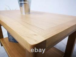 Dovedale Chêne Petite Table De Café / Rustique Bois Massif Table Basse Occasionnelle