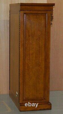 Énorme Rrp £9999 Ralph Lauren Pollard Chêne Coffre De Tiroirs Tallboy Avec Miroirs