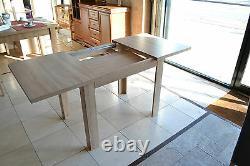 Ensemble D'extension De Table À Manger Et 4 Chaises En Bois Forte, Solide Sonoma Marp En Chêne