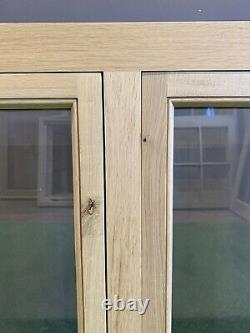 Fenêtre D'étable En Chêne Massif Séché À L'air 1200mm X 1000mm Cottage En Bois De Chêne Vert