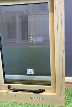 Fenêtre D'étable En Chêne Massif Séché À L'air 1200mm X 900mm Cottage En Bois De Chêne Vert