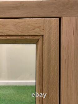 Fenêtre En Chêne Massif Fabriqué À La Main Chêne Européen Rustique 600mm X 600mm Shepherds Hut