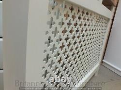 Hampshire 3' Revêtement De Radiateur Peint Pine Solide Chêne Massif Tailles Variées À La Main