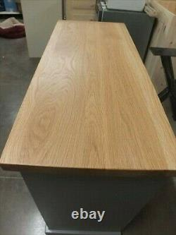 Hampshire Peint 2 Portes Buffet / Pine Solide Chêne Massif F&b Plummett