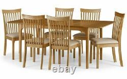 Ibsen Extension Chêne 6 Sièges Salle À Manger Option Table Et Chaises 2 Man Home Del