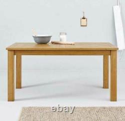 New Ideal Home Solide Oak Wood Cadre Parquet Dining Ou Cuisine Tableau 150cm X 85cm