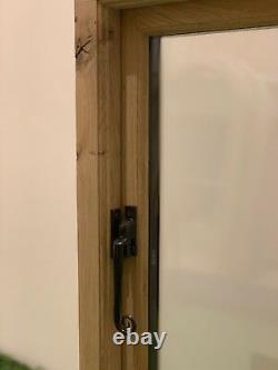 Rustique Oak Window Handcrafted Solid European Oak 600mm X 900mm Shepherds Hut