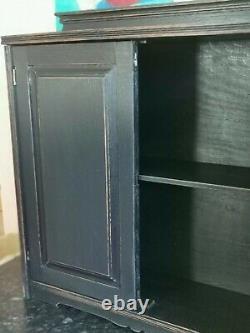 Salle De Bain En Chêne Massif Légèrement Décontraction/cuisine/utilitaire Armoire Murale Black F&b