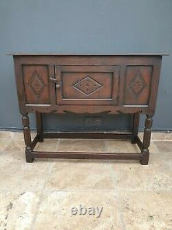 Style Antique Solide Chêne Credence Armoire / Côté / Hall Table / Buffet