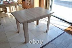 Table À Manger Extensible En Sonoma De Chêne, Forte, De Haute Qualité Meilleur Sur Ebay