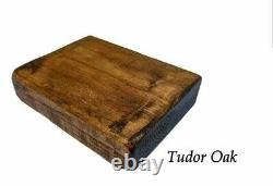 Table Basse Rustique En Bois De Pin Massif À La Main Chunky/table D'côté/offre Spéciale