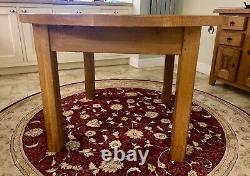 Tableau De Dinage Solide De La Ronde Oak & 4 Chairs (john Lewis) D'occasion