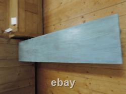 Vieille École Solid Oak And Ash Long Window Ou Hall Bench